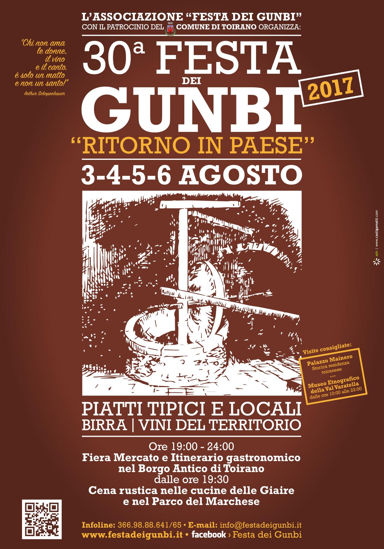 Festa dei Gunbi 2017
